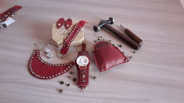 Leather & Studs Accessories