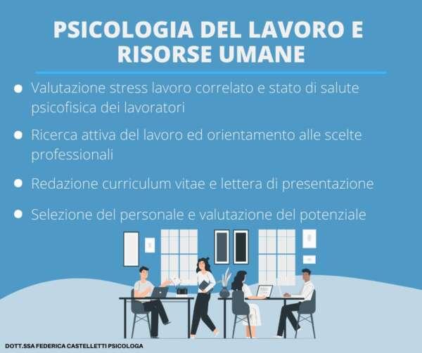 Federica Castelletti psicologa